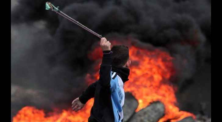 Israeli forces raided the village and clashes with Palestinians erupted. (Palestine Information Center)