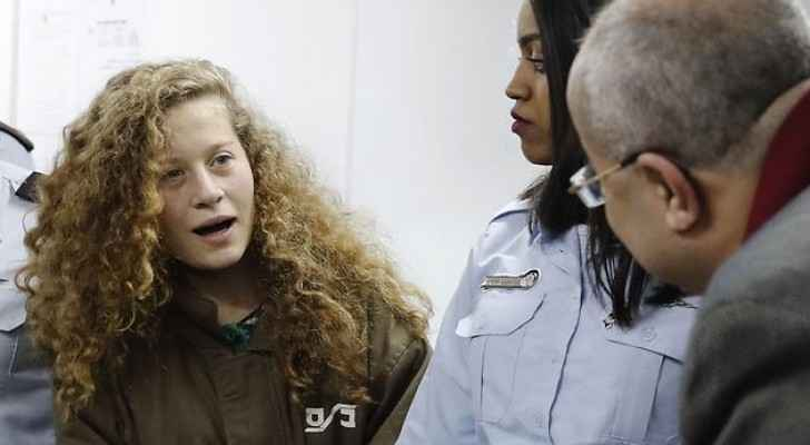Ahed Tamimi has become a Palestinian symbol of resistance.