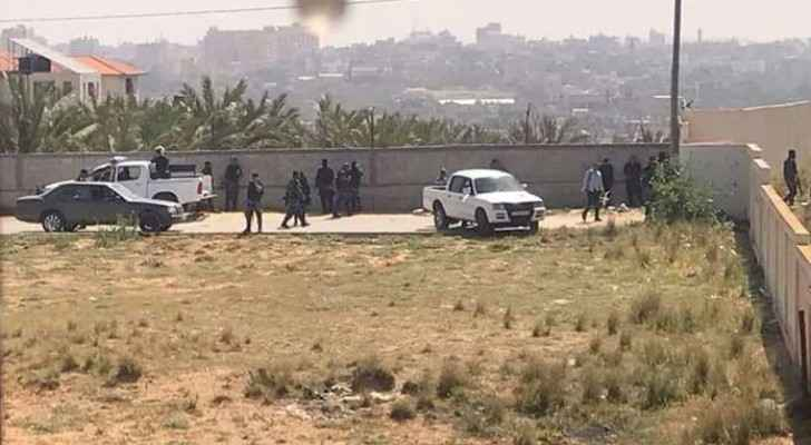 Photo of the armed clashes