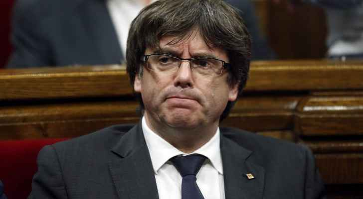 The former leader of Catalonia, Carles Puigdemont  (Indian express)