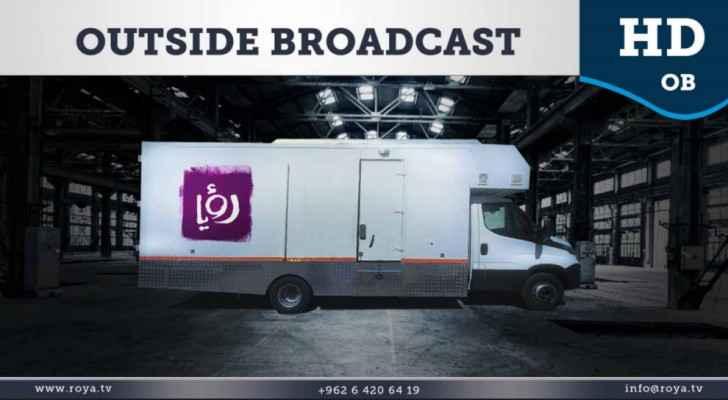 Roya's OB van is the second van in its arsenal