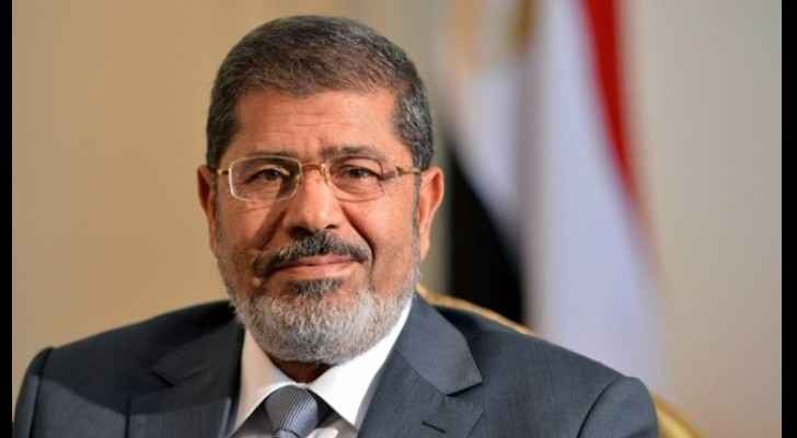 Picture of ousted president Mohamed Mursi