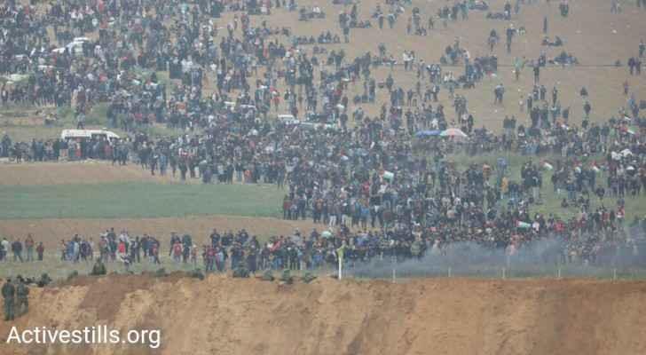 More than a dozen Palestinian civilians were killed in Gaza and around 1,087 were injured. (Activstells.com)