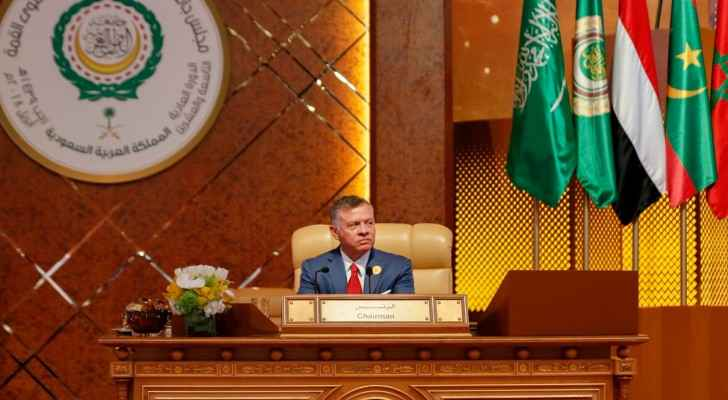 King Abdullah during the Arab League Summit 2018. (RHC)