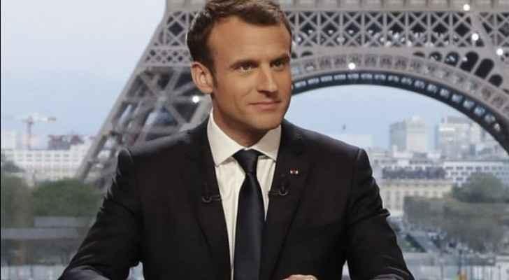 French President Emmanuel Macron. (AFP)