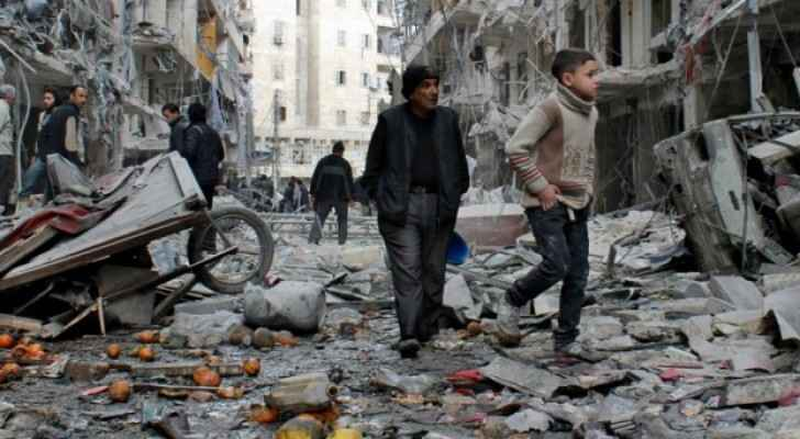 The Syrian conflict killed more than 400,000 people and displaced millions.