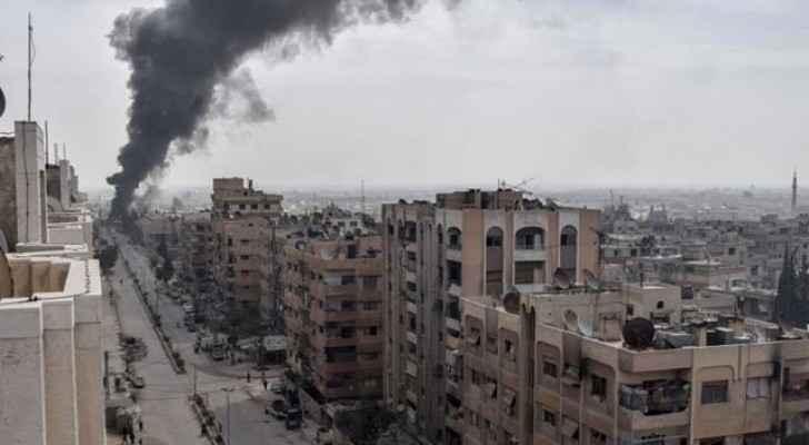 Douma in Eastern Ghouta witnessed fierce fight. (AlJazeera)