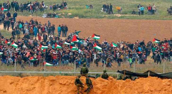 Palestinians went on a six-week march to call their demand to return to Palestine.