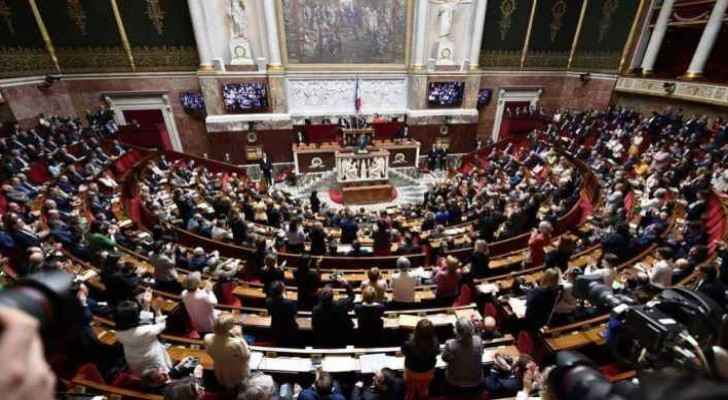 The National Assembly voted on the new immigration law on Sunday. (Sky News)