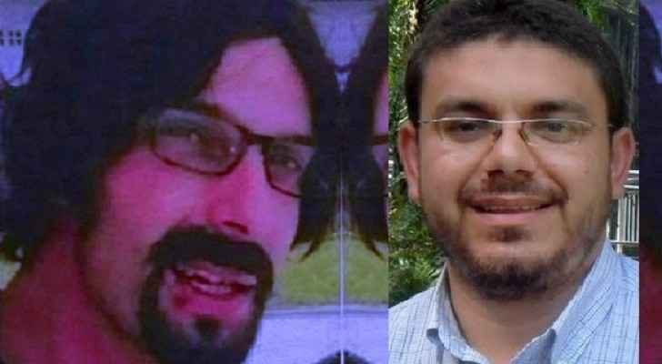 The suspect is on the left, Fadi Al-Batsh is one the right