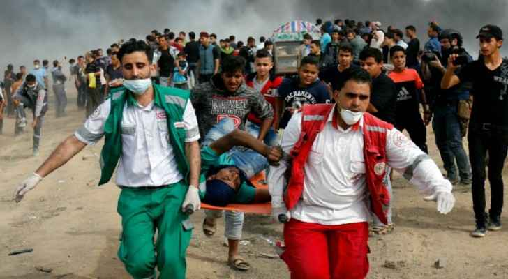 40 peaceful protesters have been killed so far by Israeli snipers on Gaza borders. (UNHumanRights)