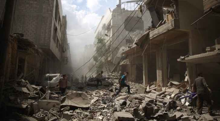 The war in Syria has displaced more than 6 million people.