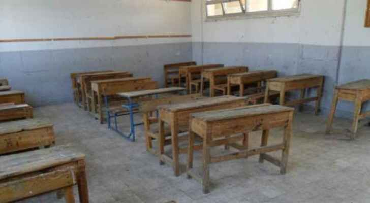 Schools in Mafraq and Aqaba were suspended due to the weather conditions.