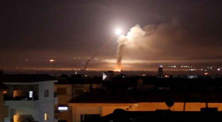 Israel strikes Iranian military sites in Syria