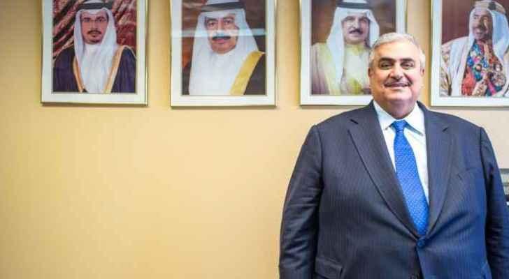 Bahraini Foreign Minister of Foreign Affairs Khaled Bin Ahmed Al-Khalifeh