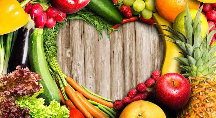 Everyone needs to eat five different fruits and vegetables a day. (Financial Tribune)