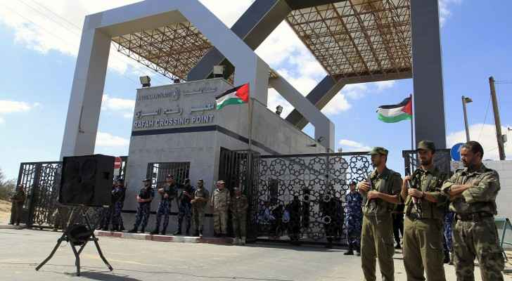 Photo of the Rafah border