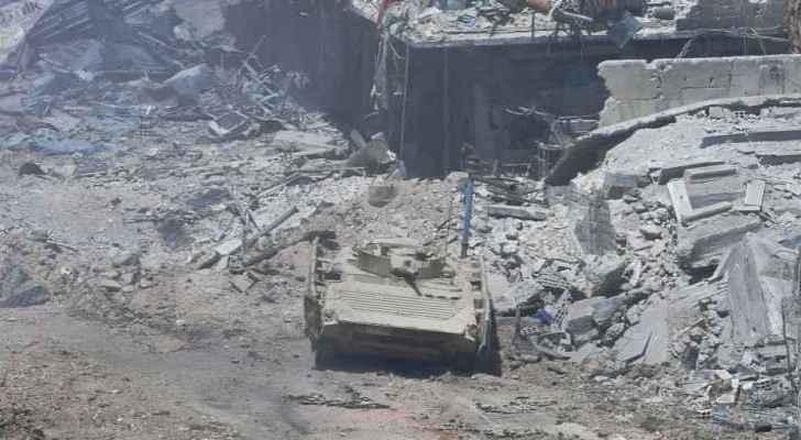 Yarmouk Camp  was liberated on Monday.