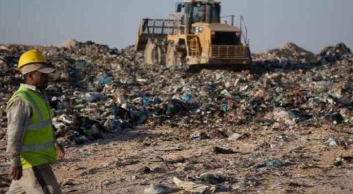 Al Ghabawi landfill is the largest landfill in Jordan. (file photo)