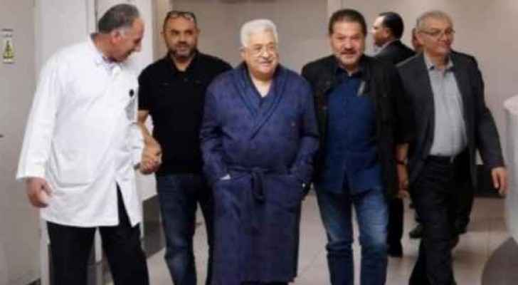 Abbas was discharged on Sunday.