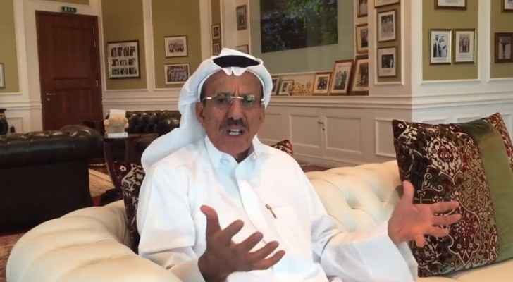 Khalaf Al Habtoor during the video.
