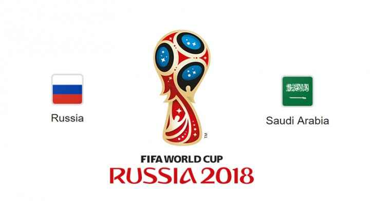 Russia faces KSA at 6 p.m. on Thursday.