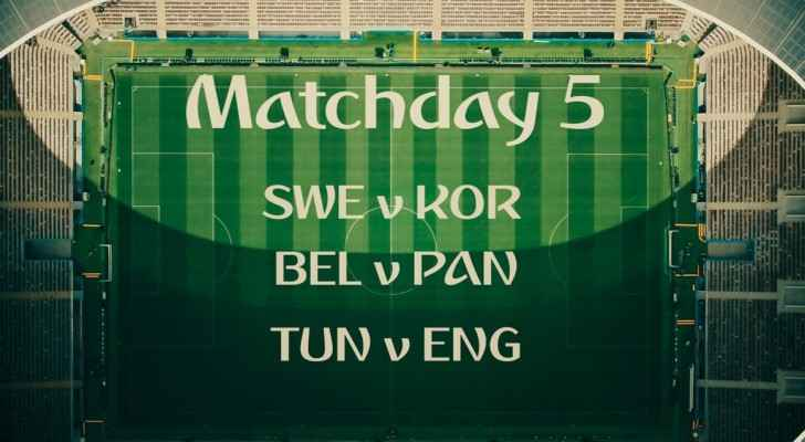 Match day program - Day 5 (FIFA)