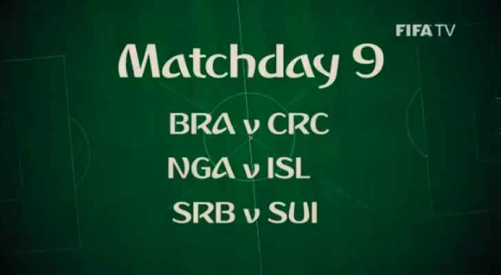 World Cup Matchday 9 (FIFA)
