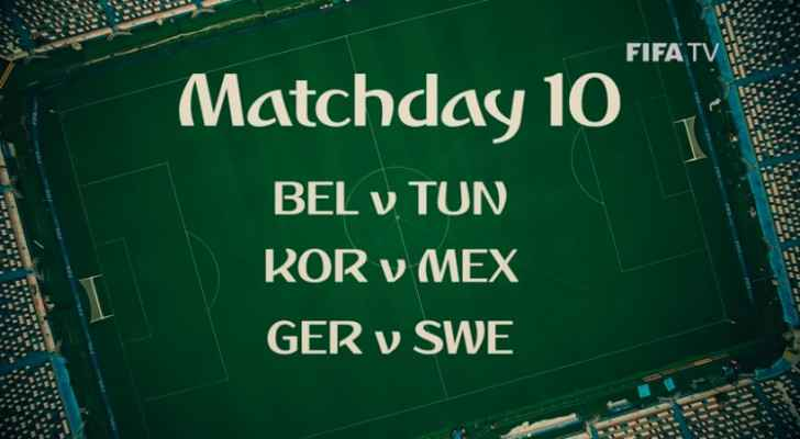 World Cup Matchday 10 (FIFA)