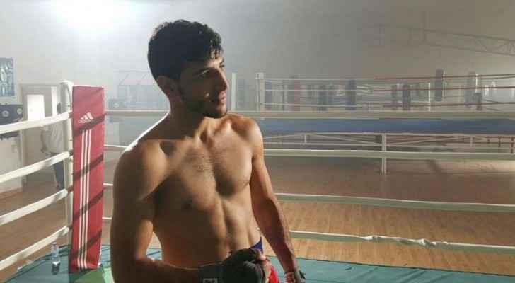Obada Al Kasbeh; a Jordanian boxer champion.