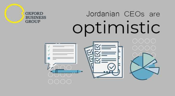 More than 100 Jordanian CEOs surveyed in an investors' related study (Oxford Business Group)