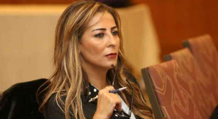 Minister of State for Media Affairs, Jumana Ghunaimat (file photo)