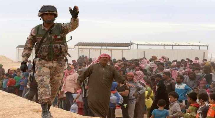 Jordan will only offer aid on Syrian territory. (file photo)