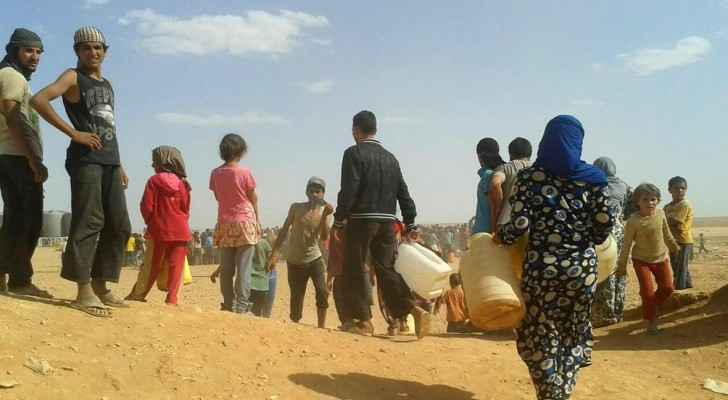 At least 270,000 Syrians have been displaced during the last few days. (The National)