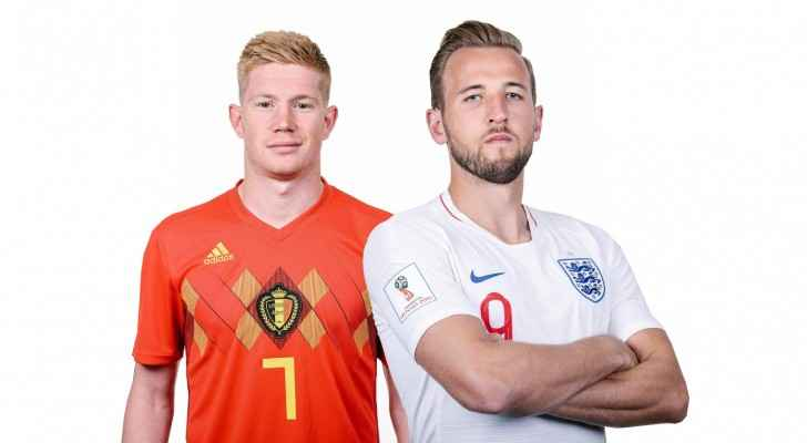Belgium vs England in the third place play-off match (FIFA)