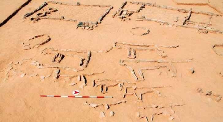 'Awja 1 archeolgcal site, Al Jafr Basin. (Photo courtesy of Sumio Fujii)