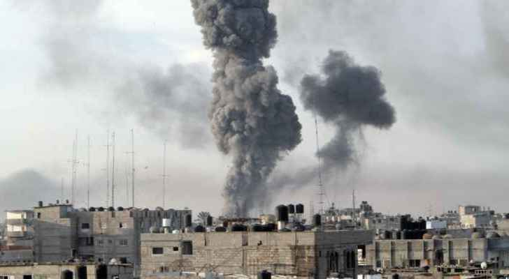 Israel on Saturday launched its largest wave of airstrikes against Hamas since 2014. (Roya Arabic)