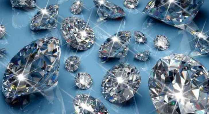 Scientists will be able to reach the diamonds is if a volcano erupts and carries them to the surface in its magma