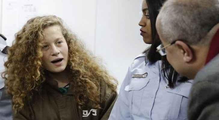 Ahed was detained by Israel in March. (File photo)