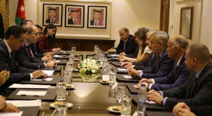 Safadi voiced Jordan's support of the voluntary return of Syrian refugees