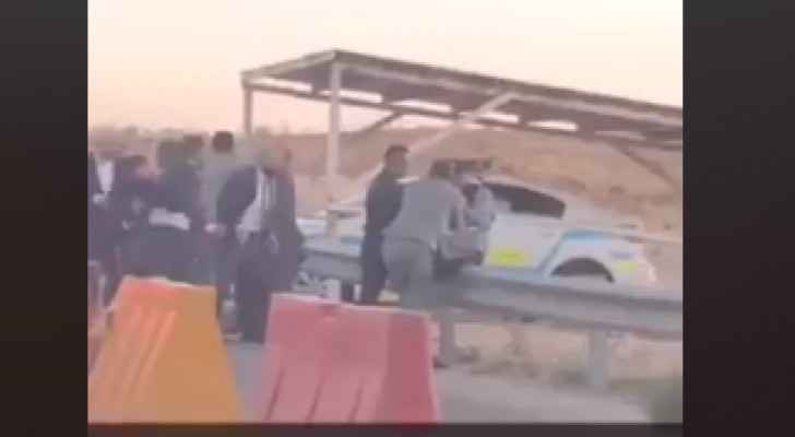 Video:  Police officer attacked by wedding party