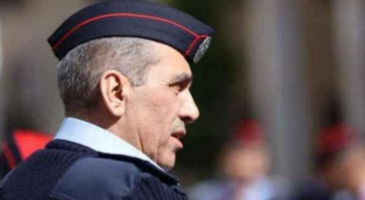 Director of the  Public Security Directorate, Fadel Hmoud.