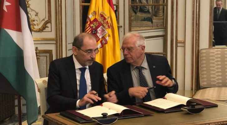 Jordan and Spain signed a Memorandum of Understanding (MoU)