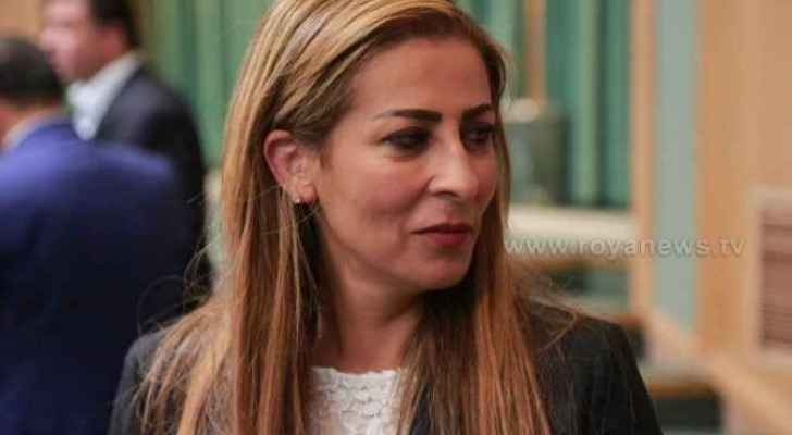 Minister of State for Media Affairs and Government Spokesperson, Jumana Ghunaimat.
