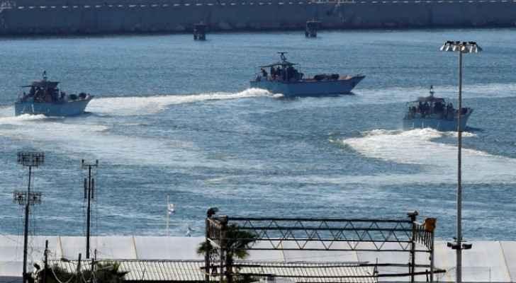 Ashdod coastline naval base, July 2018. (AFP)