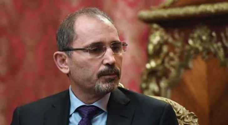 Minister of Foreign Affairs and Expatriates, Ayman Safadi.