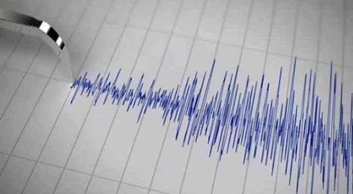 Earthquake measuring 2.6 originating from the Dead Sea.