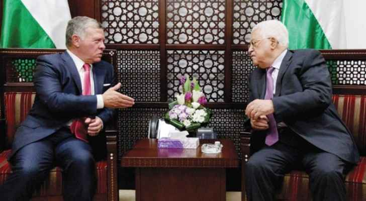 Abbas reaches Amman for talks with King Abdullah
