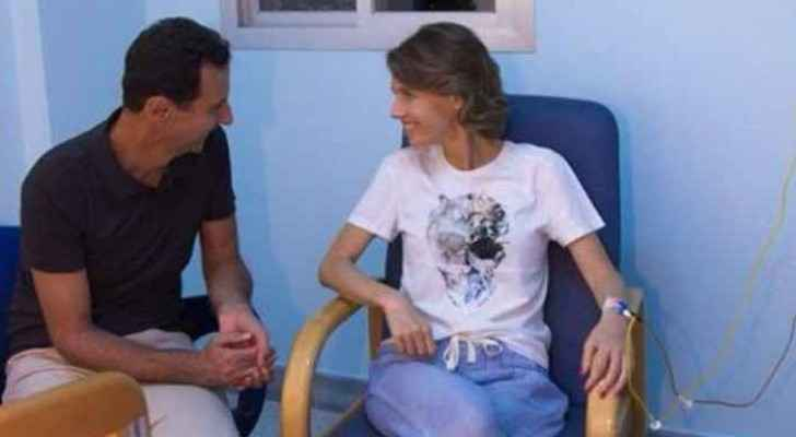 Wife of Syrian President Bashar al-Assad, has been diagnosed with breast cancer.