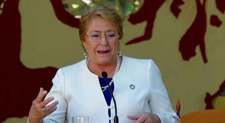 Bachelet succeeded Jordan's Prince Zeid Ra'ad al-Hussein